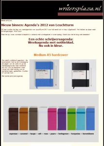Nieuw binnen: Leuchtturm 2012 agenda's