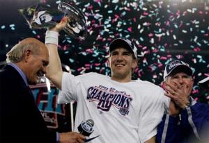 Eli Manning Superbowl 2012