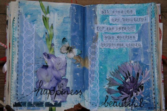 Art journaling page 1