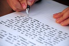 dagboekschrijven met de pen
