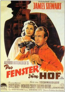 Rear Window Duitse filmposter