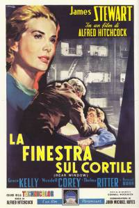 Rear Window Italiaanse poster - La Finestra Sul Cortile